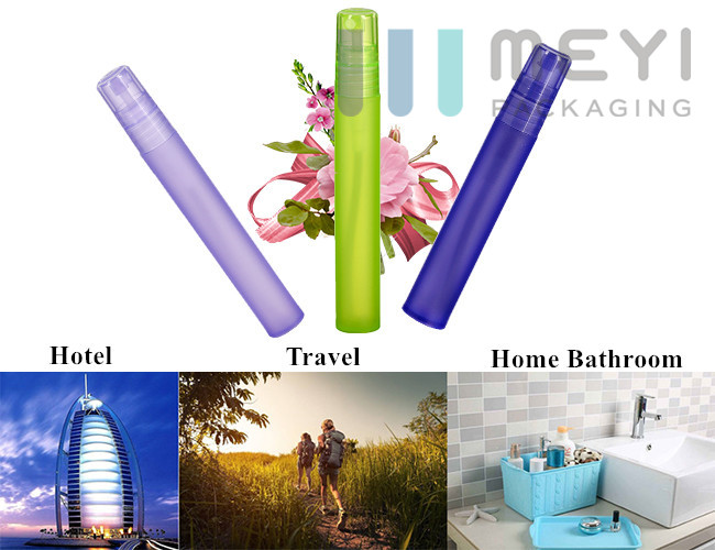 Colorful PP Pen Perfume Atomizer 5ml 8ml 10ml Refillable With High Sealed