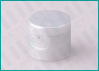 Grey 20/415 PP Plastic Flip Top Dispensing Caps For Liquid Containers