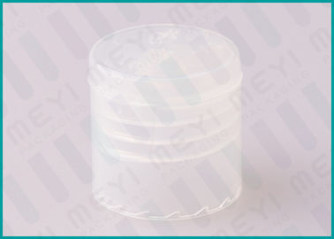 Transparent Smooth Flip Top Cap 20/415 Highly Sealed For Lotion Bottles