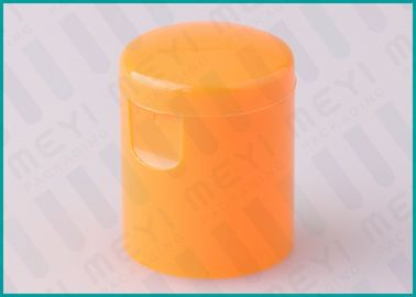 Orange Butterfly Flip Top Cap , 22/415 Recycle PP Plastic Bottle Cap