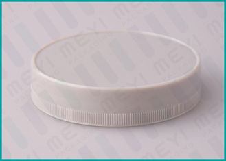 75mm Grey Screw Top Caps , PP Plastic Bottle Cap For Wide Mouth Bottle