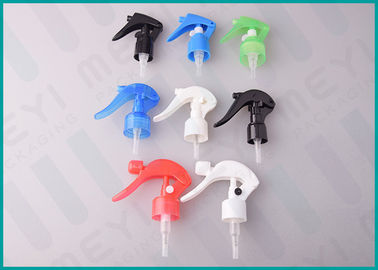 Trigger Plastic Spray Pump 24mm / 28mm Multi Color For Car Maintenance Cleaning