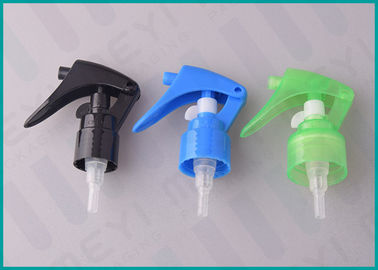 Black / Blue All Plastic Trigger Sprayer With PP Polypropylene Material
