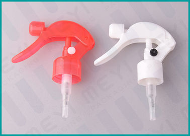 24mm Colorful Trigger Spray Nozzle Ribbed Closure Hand Pressure Trigger Sprayers