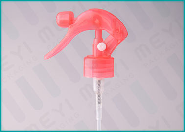 Red Trigger Spray Pump , 24/410 Water Hand Trigger Sprayer For Cosmetic Bottles
