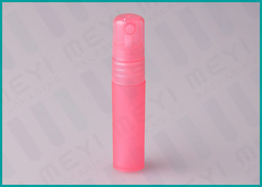 5ml Pink Travel Size Perfume Bottle Packaging No Spill With Plastic PP Material