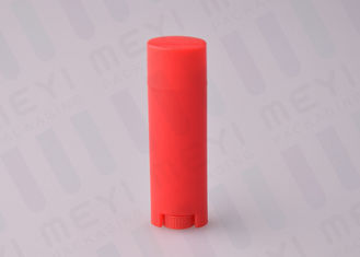 4.5g Clean Red Lip Gloss Tubes With UV Color Coating And Hot Stamping
