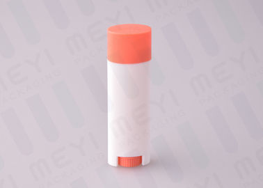 4.5g Colorful Plastic Oval Lip Balm Tubes Easy To Fulfill Lip Balm In