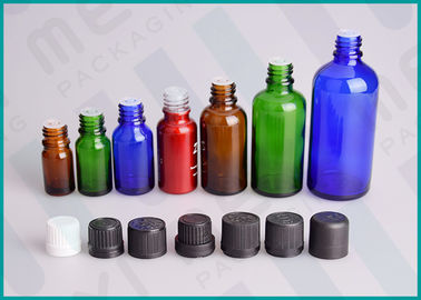 China Color Coated Glass Bottles With Screw Cap And Orifice Reducer For Essential Oil supplier