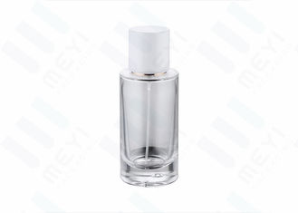 No - Leaking 50ml Perfume Bottle Glass With White Magnetic Perfume Cap
